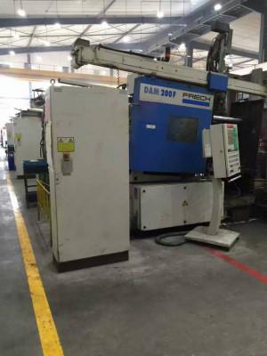 Frech DAM 200 F Magnesium-Warmkammer-Druckgießmaschine WK1440, gebraucht