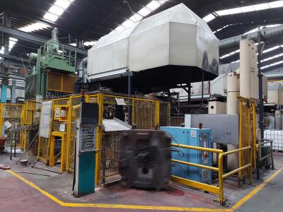 Müller Weingarten GDK 1750 cold chamber die casting machine KK1584, used