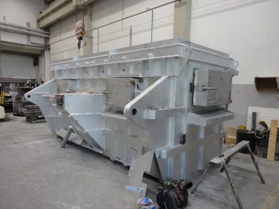 Ricondizionamento del forno di fusione StrikoWestofen StrikoMelter