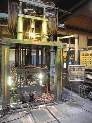 GIMA Tec 1000 macchina di pressofusione a bassa pressione usata, ND1323