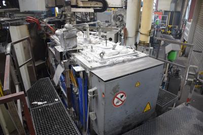 Rauch MDO 250 magnesium dosing furnace O1734, used