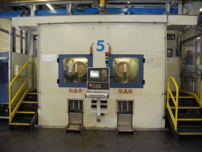 Maus Bohr- und Drehzentrum für Aluminium-Felgen Linie 5, gebraucht