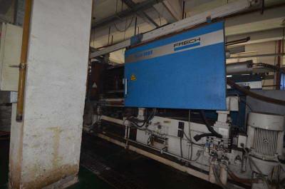 Frech DAM 500 F Magnesium Warmkammer-Druckgießmaschine, gebraucht WK1318