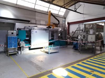 Idra OL 560 PRP macchina di pressofusione a camera fredda KK1601, usata