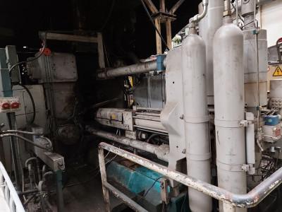 Bühler Evolution B 140 D macchina di pressofusione a camera fredda KK1580, usata