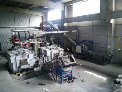 Broeze Mobil Metal Melter Aluminium Recycling Anlage, gebraucht O1616