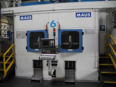 Maus Bohr- und Drehzentrum für Aluminium-Felgen Linie 6, gebraucht