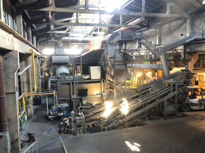 Aluminium recycling Anlage O1669, gebraucht