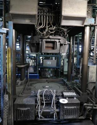 Arcomex/Milex LPC 1250.3 2 low pressure die casting machines ND1337, used