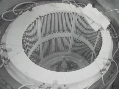 Ricondizionamento del forno a crogiolo Nabertherm